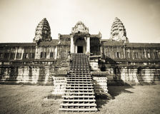 Angkor Wat temple, Cambodia Royalty Free Stock Images