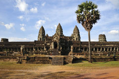 Angkor wat. Temple in Cambodia Stock Photo
