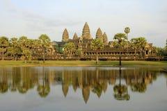 Angkor Wat Temple, Cambodja Royaltyfri Bild