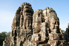 Angkor Wat temple compex Royalty Free Stock Photos