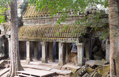Angkor Wat Temple Complex Royalty Free Stock Images