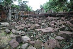 Angkor Ruins Stock Photos