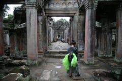Angkor Ruins Stock Photo