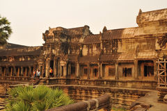 The Angkor Wat temple Royalty Free Stock Images