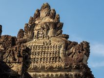 Angkor Wat is a temple complex in Siem Reap, Cambodia. stock image