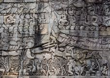 Angkor Wat is a temple complex in Siem Reap, Cambodia. royalty free stock photos