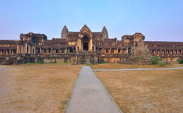 Angkor Wat Temple Complex Stock Photo