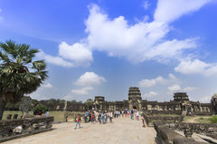 Angkor Wat Temple. Royalty Free Stock Photography