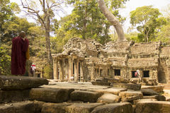 Angkor Wat. Temple. Khmer civilization. Siem Reap. Tourism in Cambodia Stock Photography