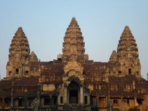 Angkor Wat. Temple Khmer Empire Royalty Free Stock Photography