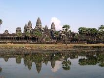 Angkor Wat Temple. Main Temple in the Angkor Wat Park, Siem Reap Stock Photos