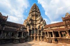 Angkor Wat Temple, Siem oogst royalty-vrije stock foto's