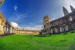 Angkor Wat Temple Royalty Free Stock Image