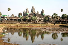 Angkor Wat Temple , Siem reap, Cambodia Royalty Free Stock Photo