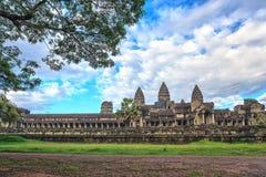 Angkor Wat Temple - Siem Reap - Cambodia Royalty Free Stock Photo