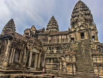Angkor Wat Temple,. Siem reap, Cambodia Stock Photography
