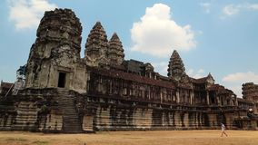 Angkor Wat temple, Siem Reap, Cambodia Stock Photos