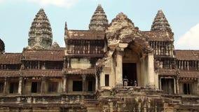 Angkor Wat temple, Siem Reap, Cambodia stock video