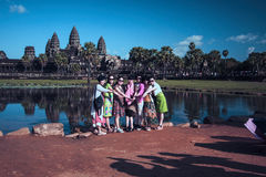Angkor Wat temple. Siem Reap, Cambodia Royalty Free Stock Photography