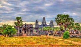 Angkor Wat Temple at Siem reap, Cambodia Stock Image