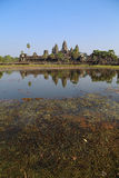Angkor Wat Temple, Siem reap, Cambodia. Royalty Free Stock Images