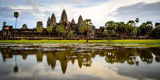 Angkor Wat temple, SiemRiep, Cambodia Stock Photos