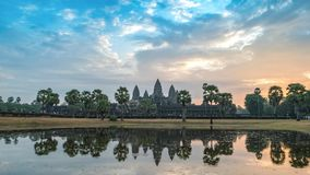 Siem Reap Cambodia time lapse stock video