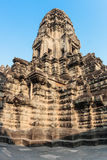 Angkor Wat temple tower. View from inside the temple. Siem Reap. Cambodia Stock Photography