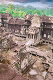 Angkor Wat temple. View from inside the temple Stock Photography