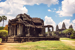Angkor Wat Temple view, Siem reap, Cambodia Stock Images
