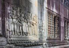 Angkor Wat Temple - Siem Reap - Cambodia Royalty Free Stock Photography