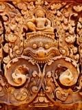 Angkor Wat - templo de Banteay Srei Imagens de Stock Royalty Free