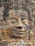Angkor Wat - templo de Bayon Imagen de archivo
