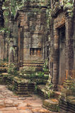 Angkor Wat (templo de Bayon) fotos de stock royalty free