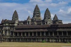 Angkor Wat - templo do Khmer na província de Siem Reap, Camboja, sul Fotografia de Stock