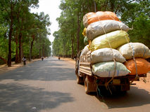 Free Angkor Wat, The Entrance Road, Cambodia Stock Image - 9526831