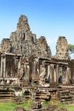 Angkor Wat - Angkor Thom και μπλε ουρανός είναι παγκόσμια κληρονομιά σε Siem Στοκ εικόνες με δικαίωμα ελεύθερης χρήσης