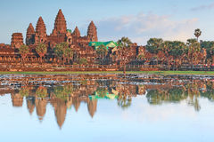 Angkor Wat in Cambodia Stock Photography