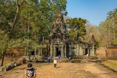 Angkor wat Angkor Thom siem oogst royalty-vrije stock afbeelding