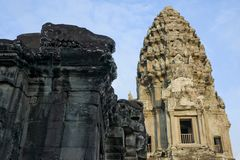 Angkor Wat tower Stock Photo