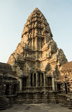 Angkor Wat tower. View of the cenral tower of Angkor Wat Royalty Free Stock Image