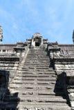 Angkor wat trede omhoog Royalty-vrije Stock Foto's
