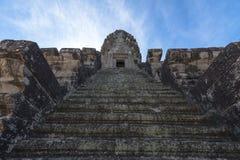 Angkor wat trede omhoog Royalty-vrije Stock Afbeeldingen