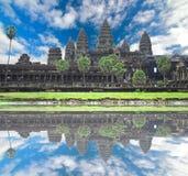 Angkor Wat  of UNESCO's world heritage in Siem Reap, Cambodia Stock Image