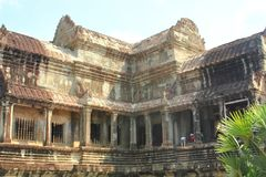 Angkor Wat of UNESCO world heritage in Siem Reap, Cambodia Royalty Free Stock Photos