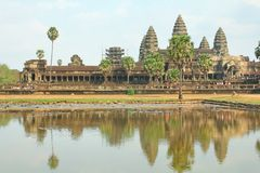 Angkor Wat of UNESCO world heritage in Siem Reap, Cambodia Stock Images