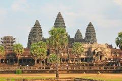 Angkor Wat of UNESCO world heritage in Siem Reap, Cambodia Stock Image