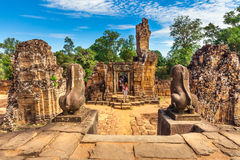 Angkor Wat - UNESCO World Heritage site near Siem Reap, Cambodia Stock Image