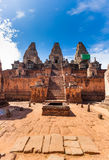 Angkor Wat - UNESCO World Heritage site near Siem Reap, Cambodia Royalty Free Stock Photo