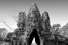 Angkor Wat van Cambodja Stock Fotografie